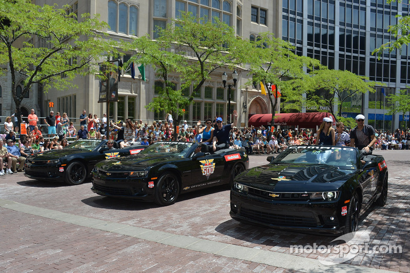 Indy 500 parata
