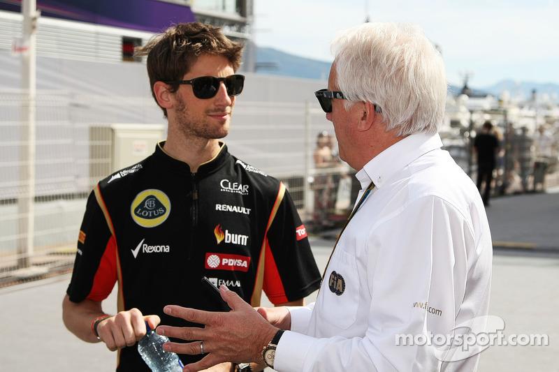 """Romain Grosjean: """"Er hat die Fahrer immer unterstützt. Er war unser erster Ansprechpartner, er hat sich immer für unsere Meinungen interessiert. 145 Grands Prix, das sind 145 Briefings. Manchmal bin ich ihm leider auch bei den Rennkommissaren begegnet, wenn ich was ausgefressen hatte. Er wird uns fehlen."""""""