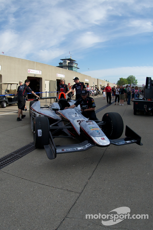 L'auto di Kurt Busch, Andretti Autosport Honda