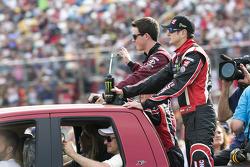 Kurt Busch and Alex Bowman