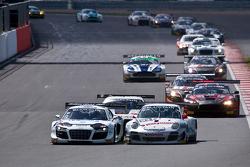 #26 Sainteloc Racing Audi R8 LMS Ultra: Edward Sandström, Stéphane Ortelli, Grégory Guilvert