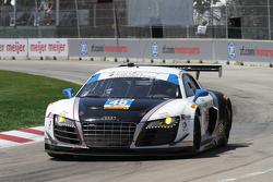 #48 Paul Miller Racing Audi R8: Bryce Miller, Christopher Haase