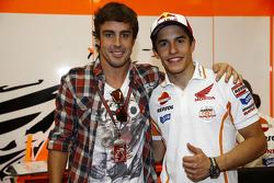 Fernando Alonso and Marc Marquez