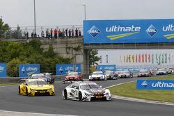 Start Marco Wittmann, BMW Team RMG BMW M4 DTM leads