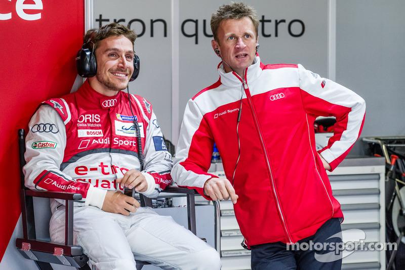 Filipe Albuquerque and Allan McNish