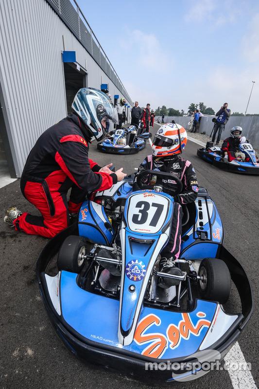 Alex Brundle e Eric Gilbert, da Motorsport.com. Foto de Clément Marin / DPPI