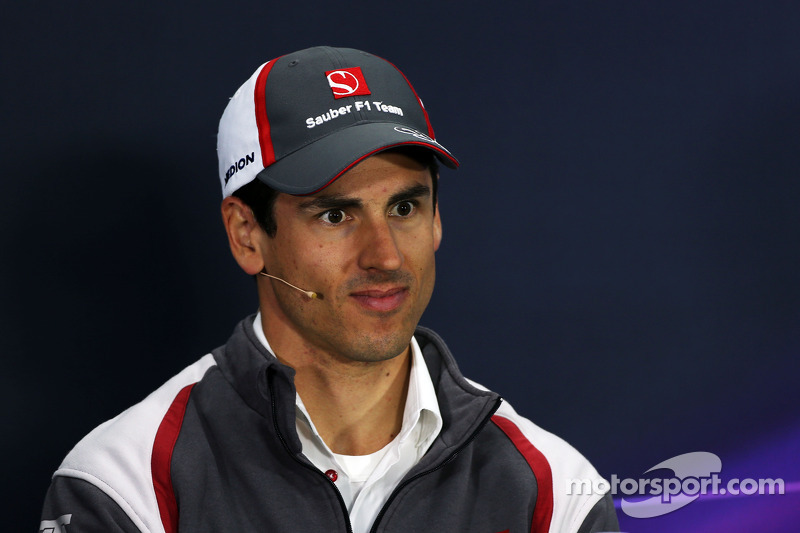 Adrian Sutil, Sauber in the FIA Press Conference