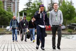Felipe Massa, Williams with his brother Dudu
