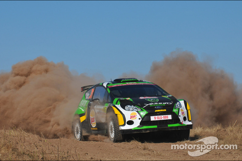 Yazeed Al Rajhi e Micheal Orr, Ford Fiesta RRC