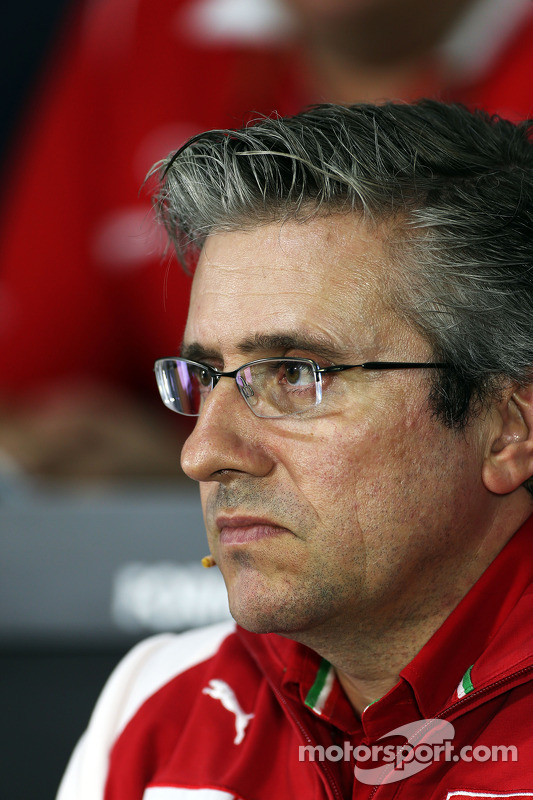 Pat Fry, Vice-Diretor Técnico e Chefe de engenharia de corrida da Ferrari