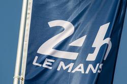 24 Ore di Le Mans logo e bandiera