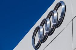 Audi Sport logo signage