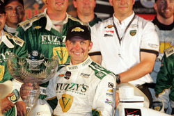 Race winner Ed Carpenter, Ed Carpenter Racing Chevrolet