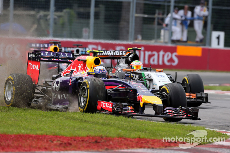 Daniel Ricciardo, Red Bull Racing Sergio Perez, Sahara Force India  08