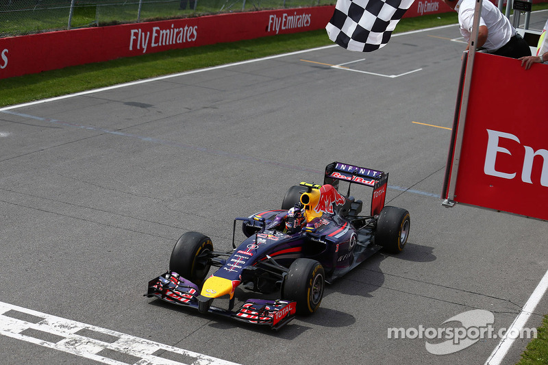 Primo posto Daniel Ricciardo, Red Bull Racing 08