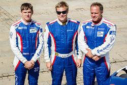 Anton Ladygin, Mika Salo, Sergey Zlobin