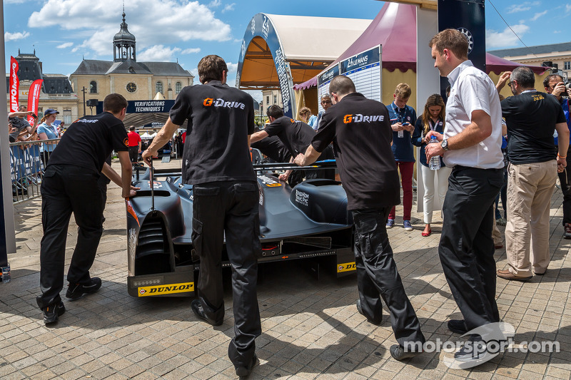 G-Drive Racing Morgan kontrol noktasında