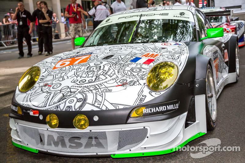 #67 IMSA Performance Matmut 保时捷 911 GT3 RSR (997)