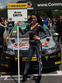 Chrome Edition Restart Racing Grid Girl