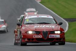 Steven Dymoke, Fabrizio Giovanardi 2001 Şampiyonası'nı kazanan ETCC Alfa Romeo 156 S200
