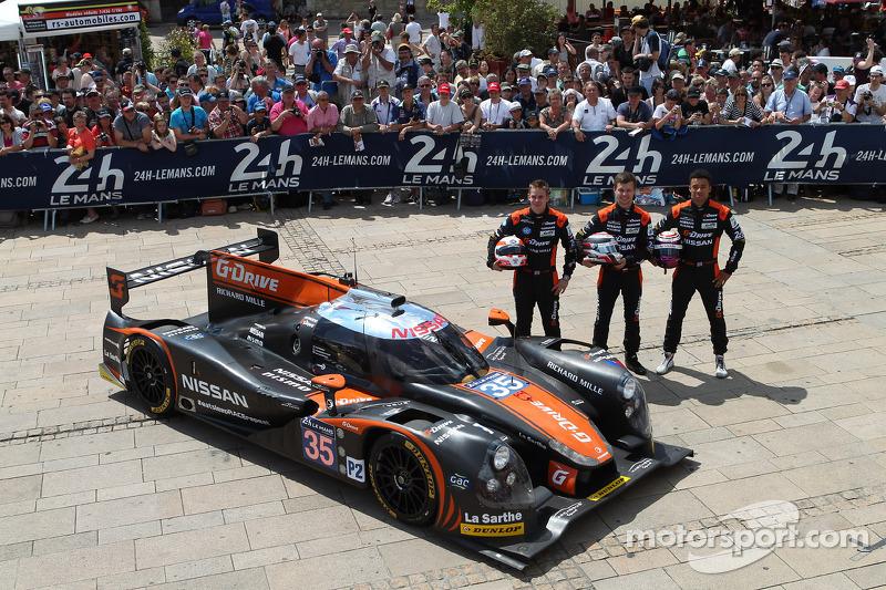 #35 OAK Racing Ligier - Nissan: Alex Brundle, Jann Mardenborough, Mark Shulzhitskiy