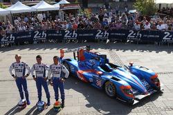 #36 Signatech Alpine Alpine A450 - Nissan: Paul-Loup Chatin, Nelson Panciatici, Oliver Webb