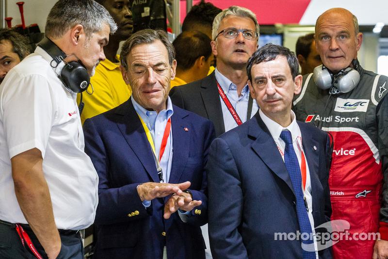 Dieter Gass, Dr. Wolfgang Ullrich, Pierre Fillon