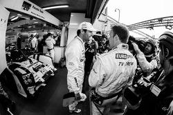 Race officially over for the #20 Porsche Team Porsche 919 Hybrid: Mark Webber