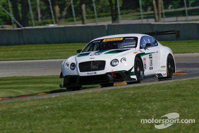 Test de la Bentley Dyson Racing
