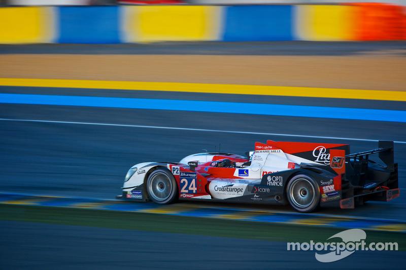 #24 塞巴斯蒂安·勒布 Racing Oreca 03R-日产: 雷内·拉斯特, 扬·哈劳兹, 维森特·卡皮莱尔