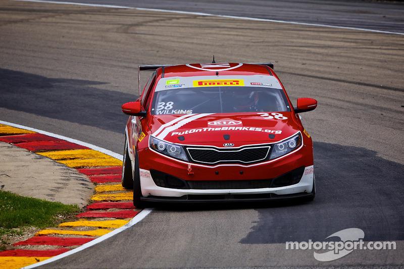 #38 Kia Racing/Kinetic Motorsports Kia Optima: Mark Wilkins