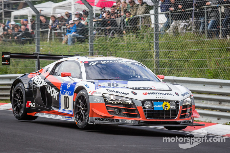 #10 Abt Racing Audi R8 LMS ultra: Christopher Mies, Christer Jöns, Niclas Kentenich, Dominik Schwager