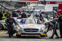 #22 Rowe Racing Mercedes-Benz SLS AMG GT3: Maro Engel, Nico Bastian, Christian Hohenadel, Michael Zehe