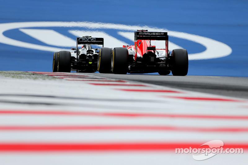 Kevin Magnussen, McLaren F1 ve Jules Bianchi, Marussia F1 Takımı