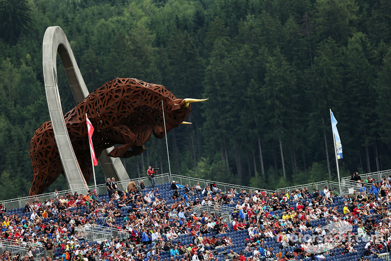 The Red Bull Ring monument