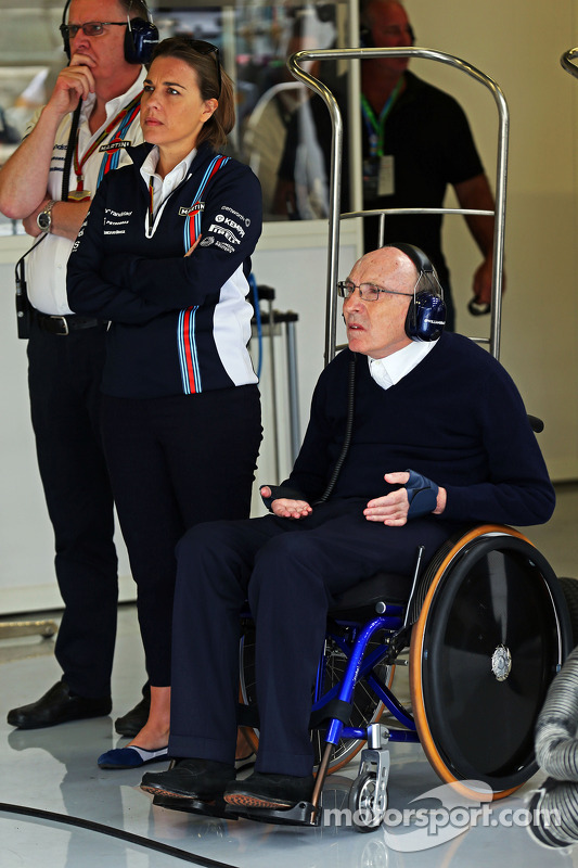 Frank Williams, Williams e Claire Williams, Williams