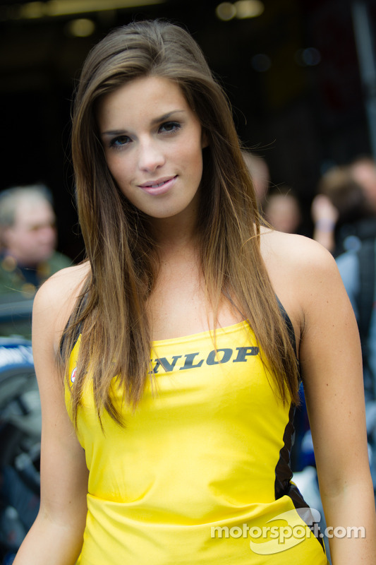 A lovely Dunlop girl