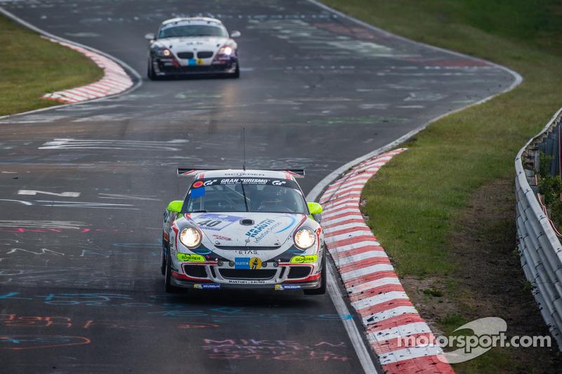 #40 曼泰-Racing 保时捷 911 GT3 Cup: 斯蒂夫·史密斯