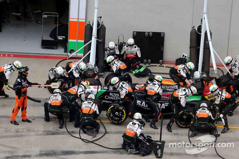 Boxenstopp: Nico Hülkenberg, Sahara Force India