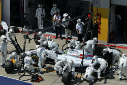 Felipe Massa, Williams F1 Team em pitstop