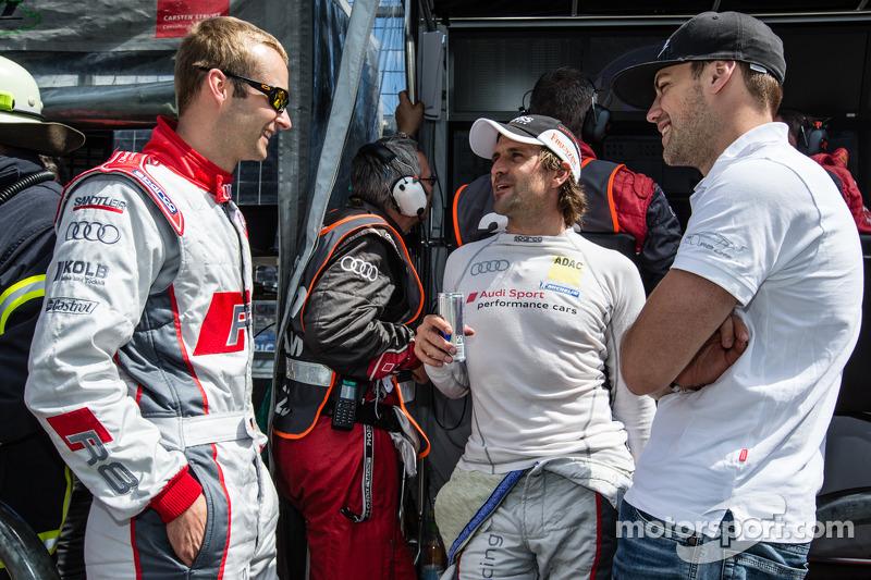 Christopher Haase, Markus Winkelhock ve Laurens Vanthoor