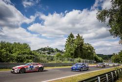 Start: #94 Mathol Racing Aston Martin Vantage V8 GT4: Wolfgang Weber, Norbert Bermes