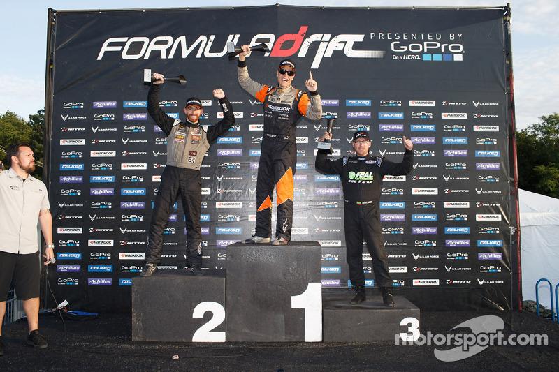 Vincitore Fredric Aasbo, secondo posto Chris Forsberg, terzo posto Aurimas Bakchis