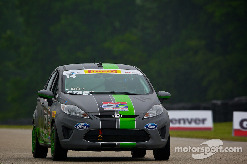 #14 Motorsports Development Ford Fiesta: Nathan Stacy