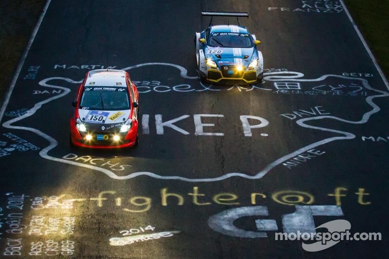 #150 Roadrunner Racing Renault Clio Cup: Lutz Rühl, Thomas D. Hetzer, Boris Hrubesch, Jürgen Peter,