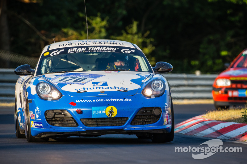 #170 Mathol Racing 保时捷 卡宴 R: Dag Wohlen, Tommy Graberg, Hans Holmund, Scott Marshall