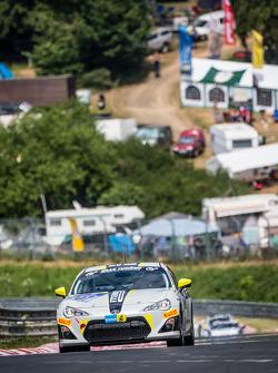 #207 Dörr Motorsport Toyota TMG GT86 Cup: Maciej Dreszer, Francesco Fanari, Dirk Heldmann, Stefan Kenntemich