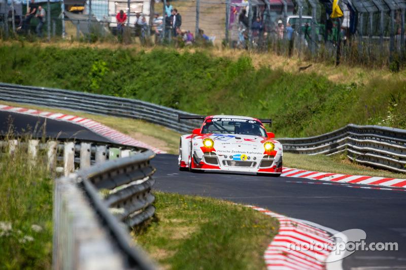 #12 曼泰-Racing 保时捷 997 GT3 R: 奥托·克洛斯, 塞巴斯蒂安·阿施, 哈拉德·施洛特尔, 延斯·里克特