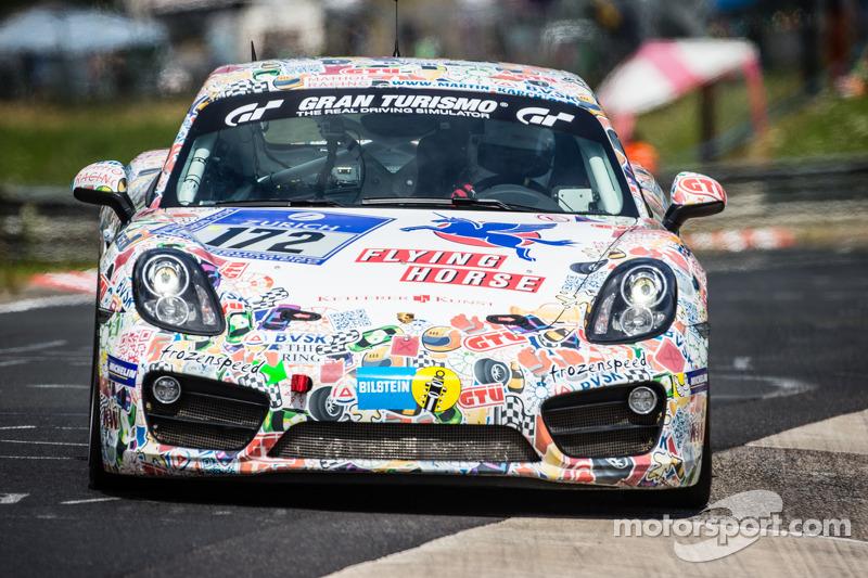 #172 Mathol Racing 保时捷 卡宴 S: Claudius Karch, Kai Riemer