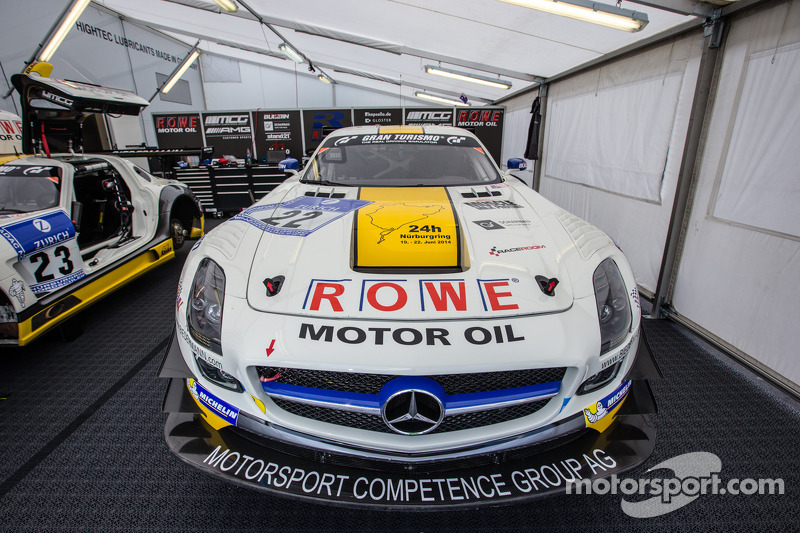 #22 Rowe Racing Mercedes-Benz SLS AMG GT3